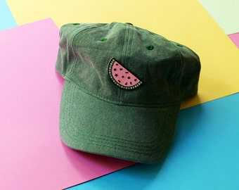 Watermelon Patch Baseball Hat - Strapback LIMITED