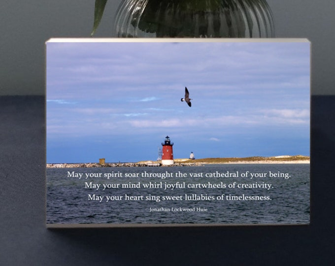 Inspiratonal Photo Gift   May Your Spirit Soar Inpirational Quote by Johnathan Huie