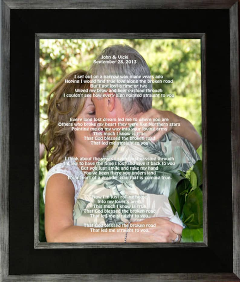 Customized  Wedding Photo Gift and Frame For Bride & Groom  image 0