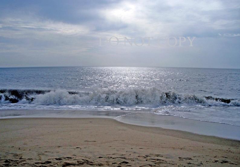 Beach Photograph  Dawn In Dewey Beach Great Beach House image 0