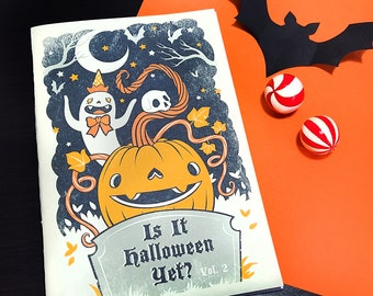 Is It Halloween Yet? Vol. 2 - Color book for adult by Grelin Machin