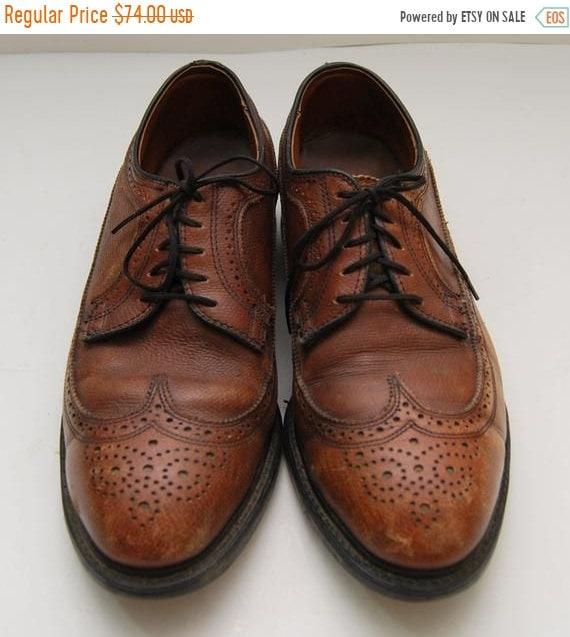SALE mens 1970s Knapp Shoes brown
