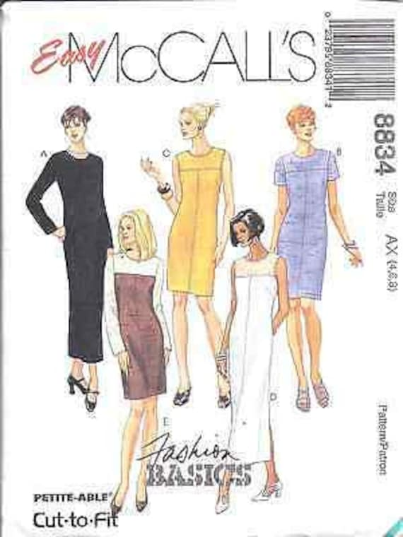 8838 Vintage McCalls SEWING Pattern Misses Shirt Pants CASUAL UNCUT NEW FF SEW