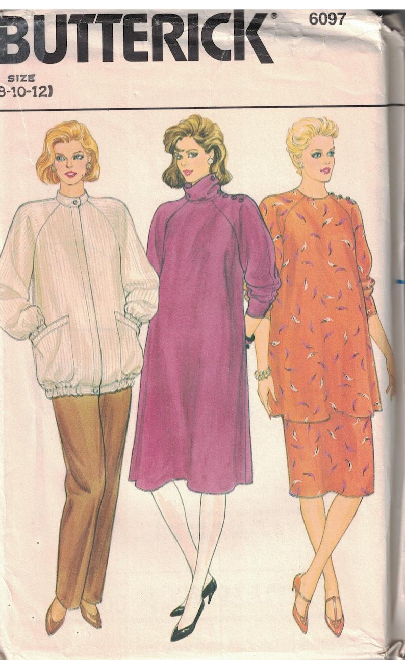 6e4e62e885997 6097 Butterick Misses Sewing Pattern UNCUT Maternity Dress Top | Etsy