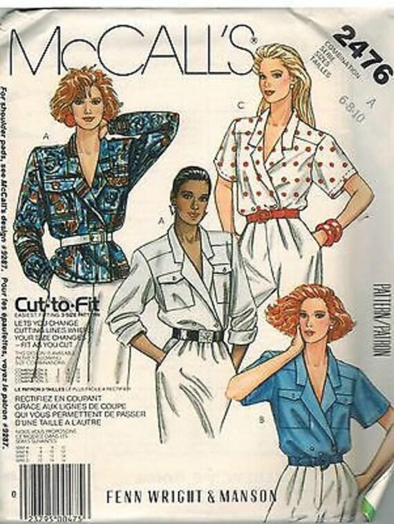 8832 UNCUT Vintage McCalls SEWING Pattern Misses Flared Skirt FF OOP EASY QUICK