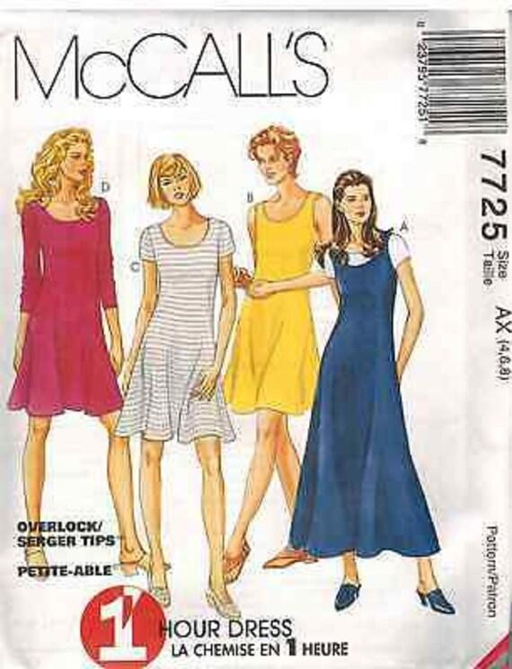 8622 UNCUT Vintage McCalls SEWING Pattern Misses 2 Hour Semi Fitted Skirt OOP FF