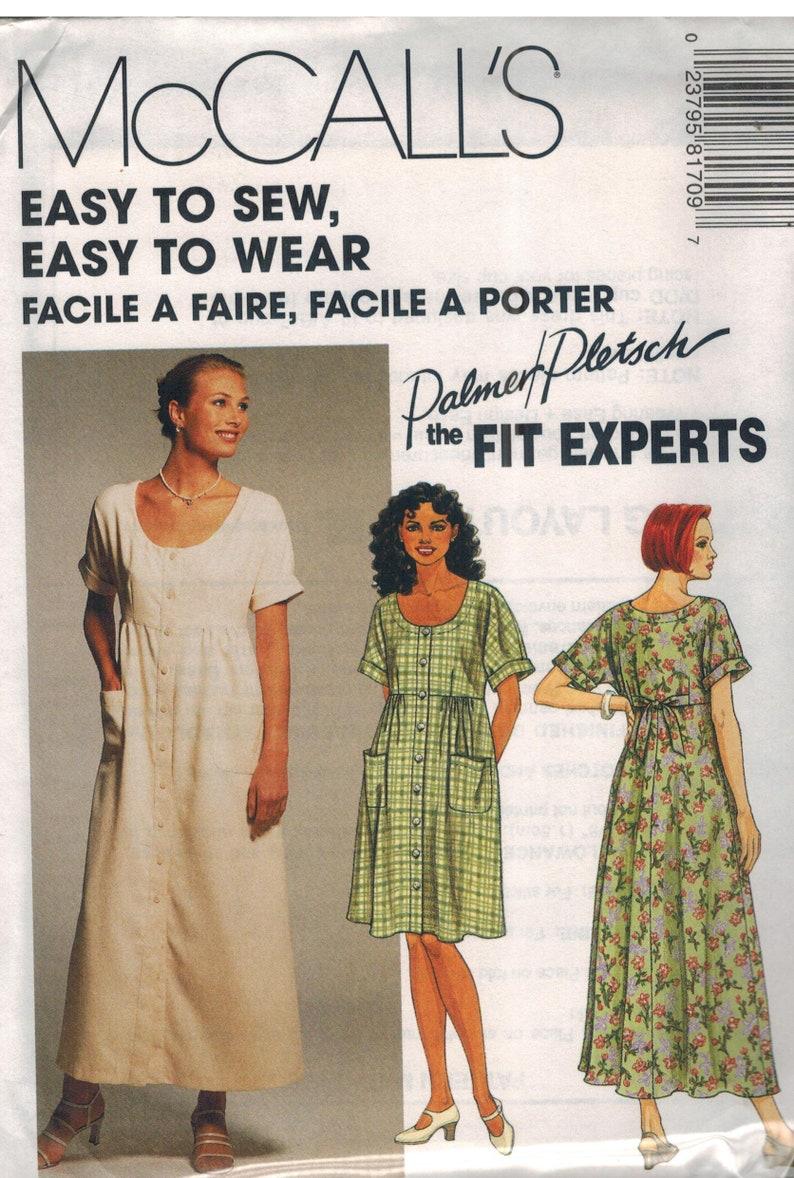 8396 McCalls SEWING Pattern Misses Easy EZ Dress Pants UNCUT Sew News Career OOP