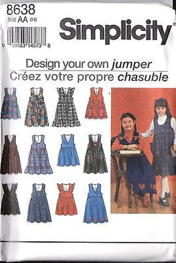 UNCUT Vintage Simplicity Sewing Patterns Misses Simply the Best Jeans 7581 OOP