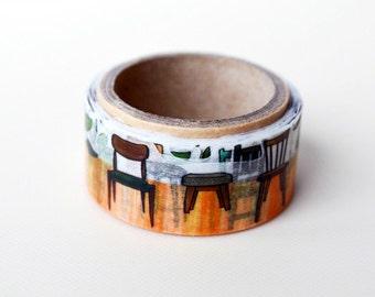 Chair Yano design debut series washi tape 20mm x 5M