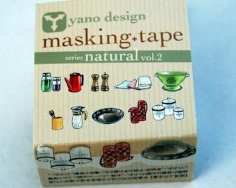 Kitchen Yano design debut series washi tape 20mm x 5M