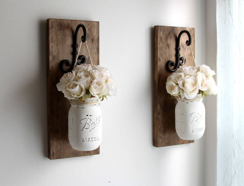Rustic Home Decor-Wooden Wall Sconces-Wall Decor-Spring image 0