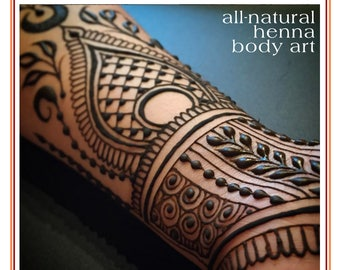 Private Henna Lesson: Gift Card for Two Hours in Frenchtown, NJ