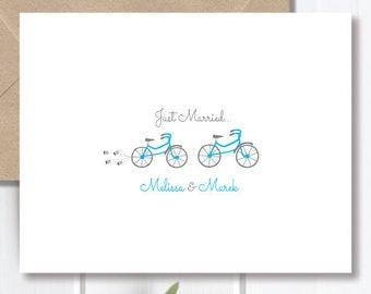 items similar to stick figure wedding wedding thank you cards