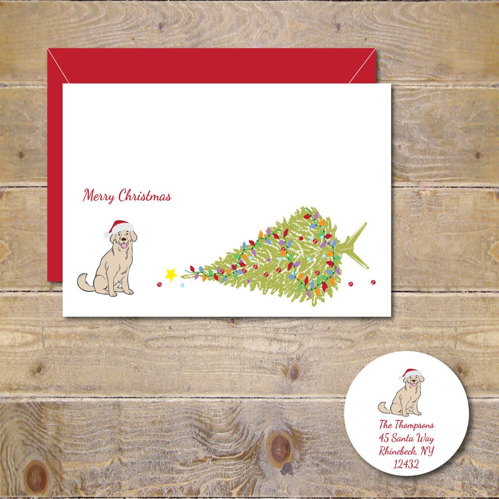 Christmas Cards Holiday Cards Dogs Dog Christmas Cards | Etsy
