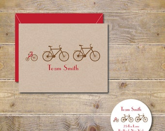 Baby Thank You Cards, Baby Shower, Bicycles, Tricycle, Baby Announcements, Thank You Cards, Baby Shower, New Baby, Birth Announcements