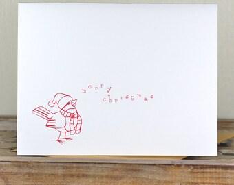 Christmas Cards, Cardinals, Holiday Cards, Christmas Card Set, Holiday Card Set, Christmas, Handmade