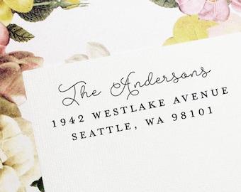 Self Inking Return Address Stamp, Custom Stamp, Self Inking Address, Personalized Stamp, Wedding Stamp, Housewarming Gift - Style #108
