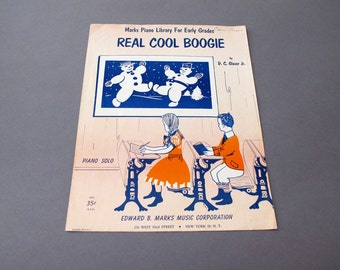 1955 Real Cool Boogie Sheet Music