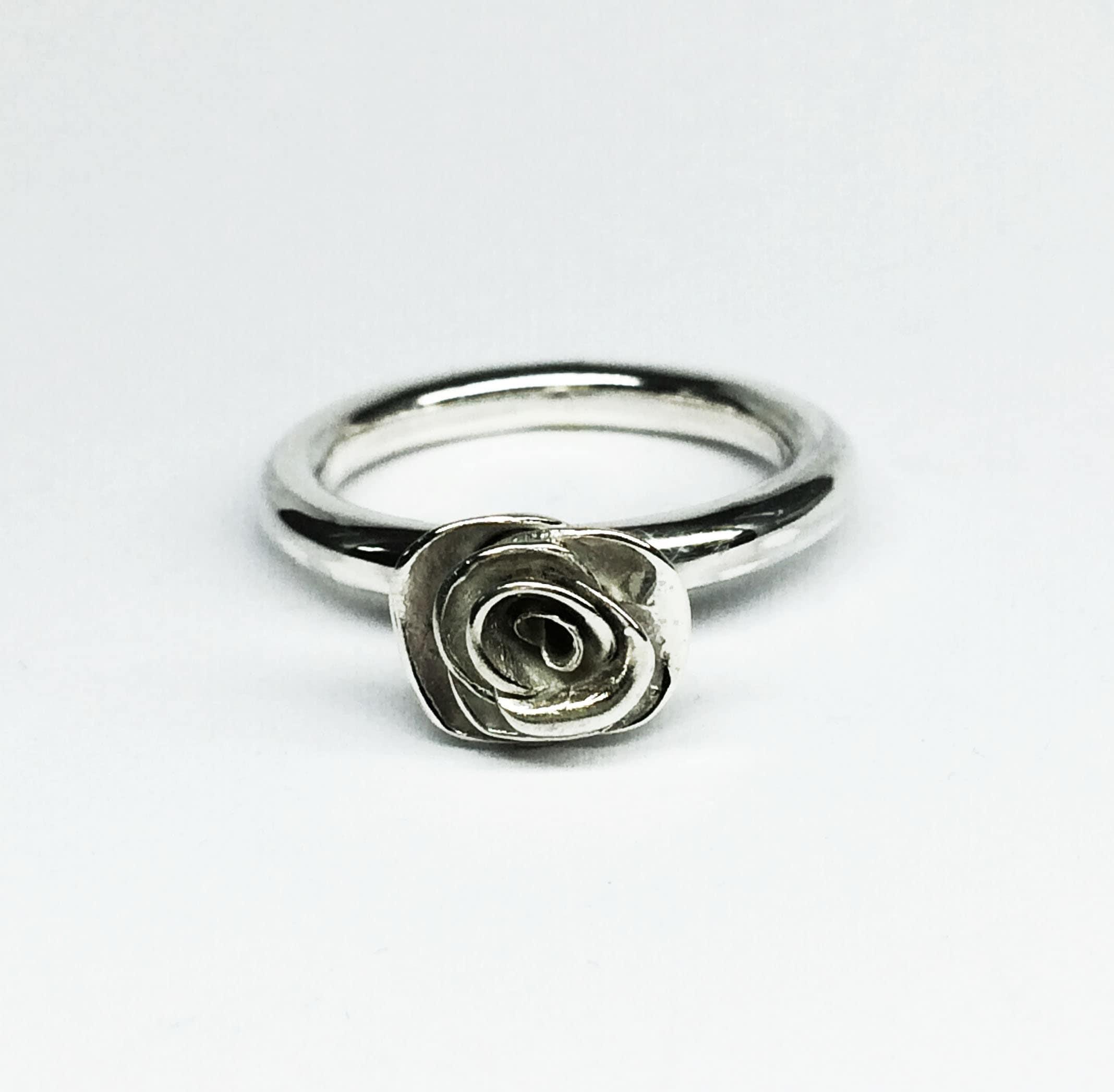 50: Silver Rose Ring Wedding At Websimilar.org