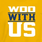 WOO WITH US - Nashville Hockey T-shirt - T-square Tees - Silkscreened  Tri-Star unisex fit