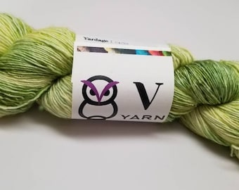 "Sula Base: ""Glow"" 95/5 SW Merino/Sparkle Yarn, Fingering Yarn"
