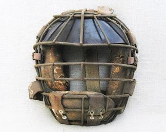 Vintage Catchers Mask, Baseball Equipment, Sporting Goods, Man Cave