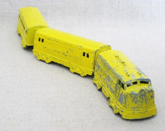Vintage Midgetoys Train Set, Trolley, Miniatures
