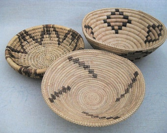 Vintage Coil Basket Collection, Storage and Organization, Serving and Entertaining