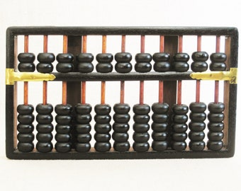 Vintage Abacus, Counting Tool Educational Toys, Wall Decor
