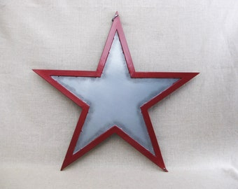 Vintage Star, Large Metal Star Wall Decor