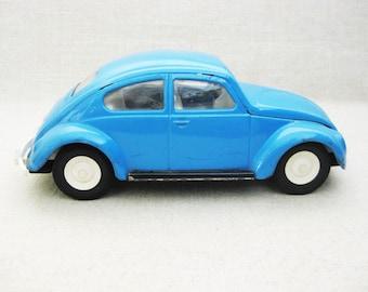 Vintage Tonka Volkswagen Beetle, Metal Toy Cars