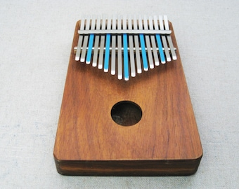 Vintage Kalimba Musical Instrument, 17 Note African Music, Hugh Tracey