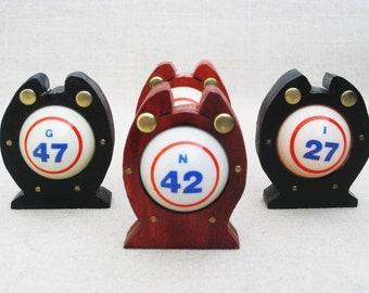 Vintage Lucky Horseshoe, Bingo Good Luck Charms, Folk Art