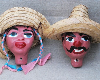 Vintage Doll Heads, Puppet Parts, Mexican Marionettes, Doll Restoration and Supply