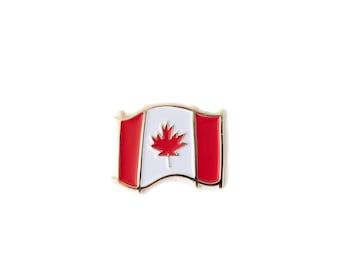 884138d354c Canadian Flag Enamel Pin - Canada flag pin - Canada 150th Birthday -  Canadiana - Lapel pin - Canada Flag - Maple Leaf - Canada 150