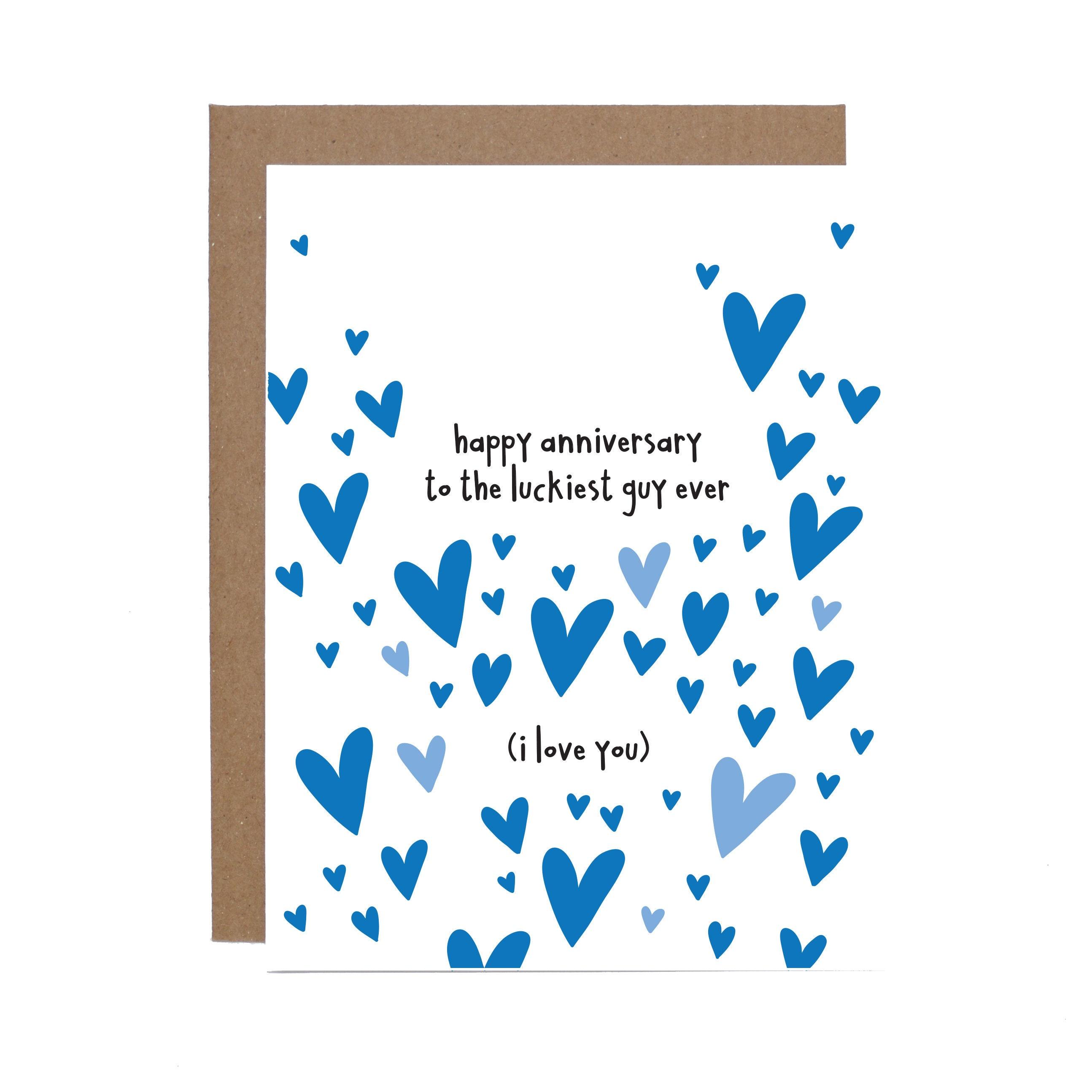 Funny Anniversary Husband Boyfriend Card Love Wedding Etsy