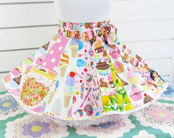 Scrappy Apron with Cupcakes and Other Stuff Made to Order