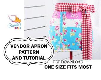 Vendor Apron Pattern and Tutorial