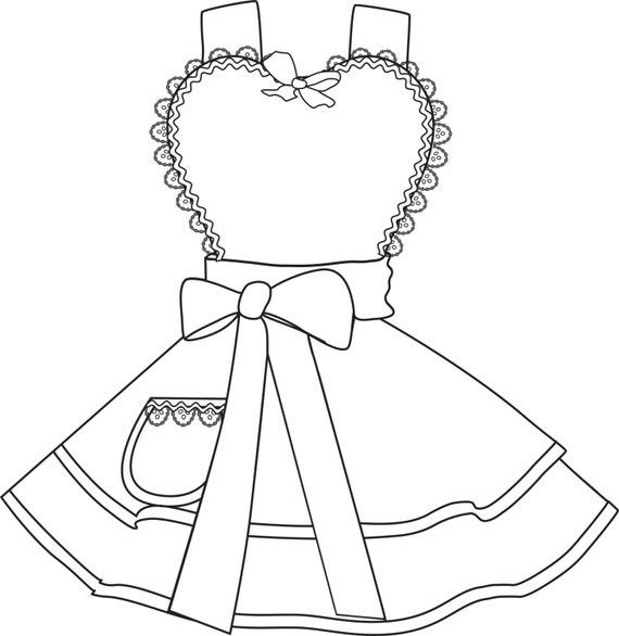 dotties diner retro pinup custom order apron any size etsy Pink Petticoat Skirt 50