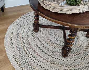 Making Beautiful Braided Rugs One At A Time By Greenatheartrugs