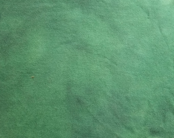 Hand dyed wool fabric - spearmint green  - rug hooking - applique and crafts - primitive crafting - quilting - sewing - green wool - 0326