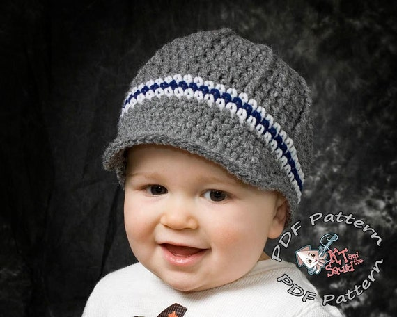 Crochet hat pattern Newsboy hat pattern crochet hat pattern | Etsy