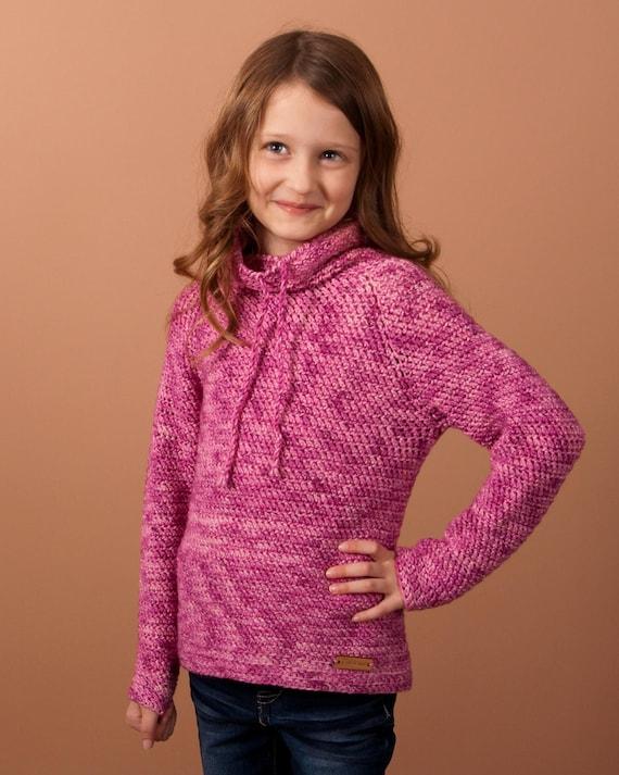Crochet Sweater Pattern Crochet Pullover Top Down Pullover Etsy