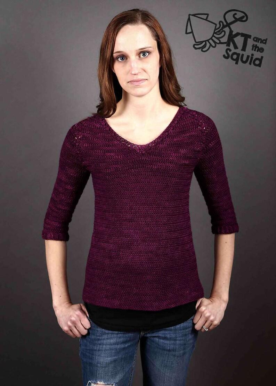 a75bb852a4ee CROCHET sweater PATTERN pullover pattern. women s sweater