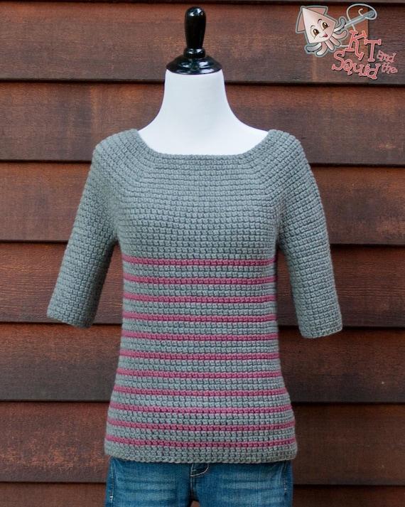 Crochet Sweater Pattern Womens Sweater Pattern Crochet Etsy