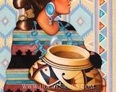 Kai - Willow The Navajo Goddess Of Pottery