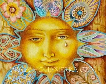 The Sun - A Fine Art Greeting Card