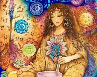 CRYSTALLINE - A Fine Art Greeting Card