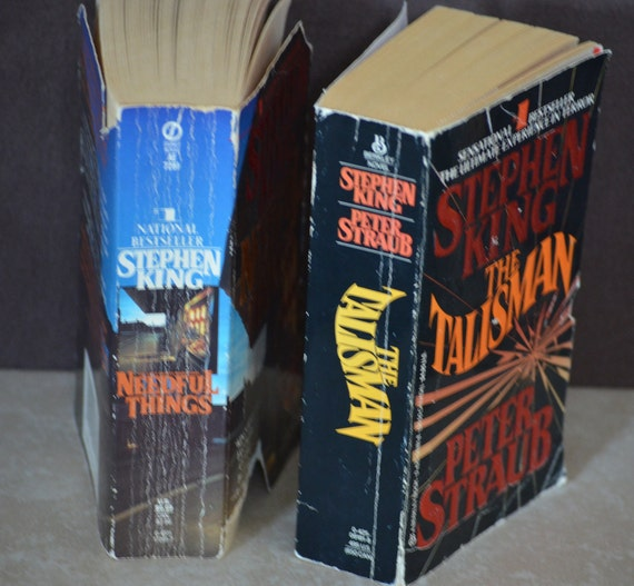 Stephen King Horreur Livres Le Talisman Needful Things 80 S 90 S