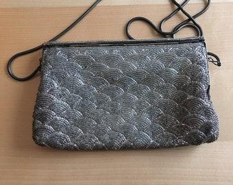 Vintage art deco shoulder purse